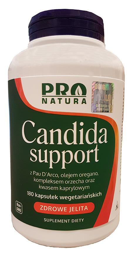 Candida Support – wsparcie w leczeniu zakażeń drożdżakami Candida albicans