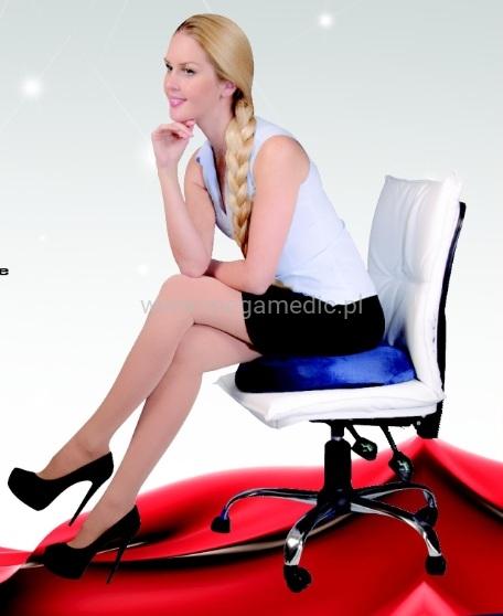 Poduszka ortopedyczna do siedzenia dla pracowników biurowych