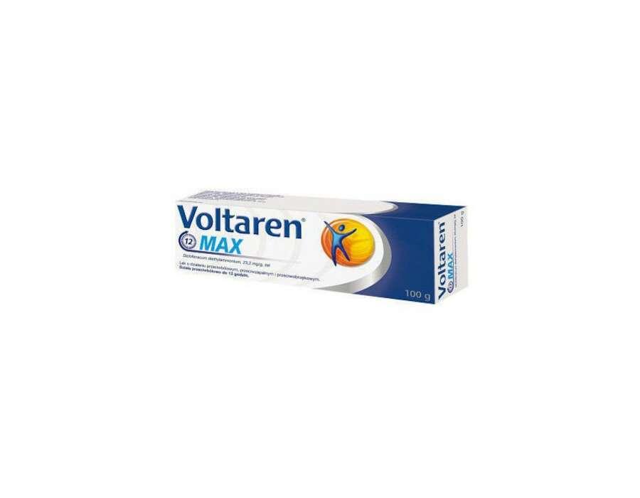 Voltaren max-lek w żelu